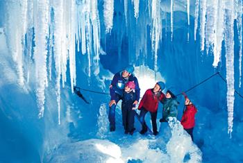 Natureispalast Hintertuxer Gletscher